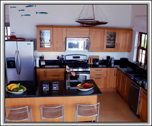 Coccoloba Villa's Kitchen Is Well Equipped - Coccoloba Villa - Nevis Island