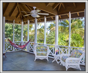 The Sheltered Porch At Coral Reef - Nevis Vacation Homes