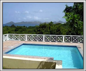 Dolphin House Looks Out On Saint Kitts - Nevis Vacation Homes