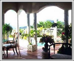 West Indian Style Great Room Overlooks Pool - Nevis Property