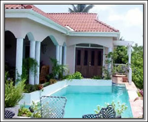 The Pool Offers Views Of St. Kitts - Rental Homes