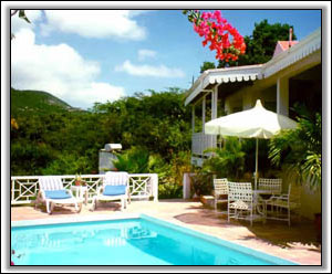 Tropical Gardens Surround This Nevis Property - Island Rental Homes