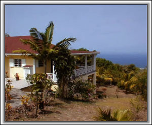 High View House Overlooks The Sea - Nevis House Rental