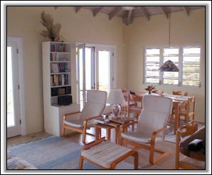 The Living Room At Highview House - Nevis Rental Houses