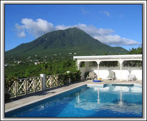 Nevis Peak Looks Down On Hill Rise House - Holiday Rentals