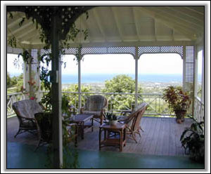 The Veranda Looks Out On The Caribbean - Holiday Homes