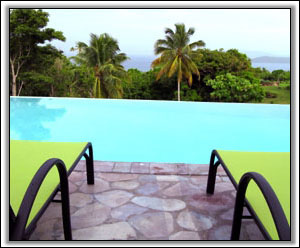 The Infinity Pool Overlooks The Caribbean - Idyll Dreams Villa - Nevis, West Indies