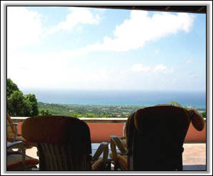 Looking Out To The Caribbean Sea - Nevis Island Villas