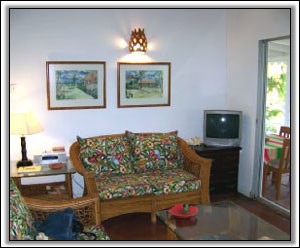 A Living Room With Nevis Flair - Nevis Rental Property