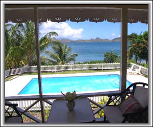 The Pool Under The Caribbean Sun - Nevis Houses