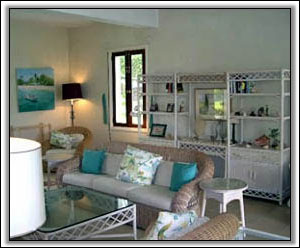 The Lounge Has A Caribbean Feel - Holiday Rentals