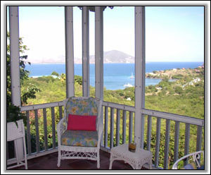 Round Hill Cottage Looking Out On Saint Kitts - Nevis Villa Rentals