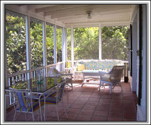 The Porch At Round Hill Cottage - Nevis Holiday Rentals