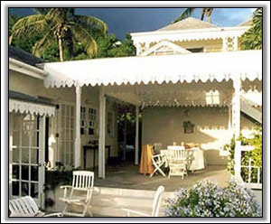 A Large Porch To Enjoy The Caribbean Sun - Nevis Houses