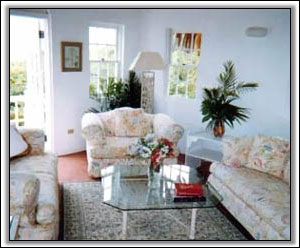 The Sitting Room Is Light And Airy - Nevis Rentals