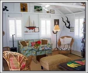 A West Indies Inspired Sitting Room - Holiday Villas