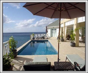 The Infinity Pool Overlooking The Caribbean - Nevis Property