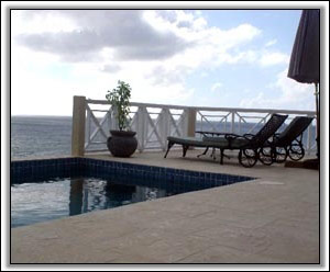 The Patio Has Great Views Of The Ocean - Villa Rentals