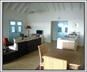 A West Indies Inspired Sitting Room - Nevis Holiday Homes