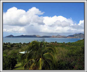 270 Degree View Of St. Kitts And Oualie Bay - Caribbean Homes
