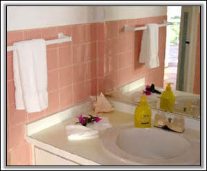 The Bathroom In Caribbean Colours - Vacation Property