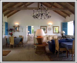 The Sitting Room In Caribbean Colors - Nevis Houses