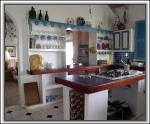 The Kitchen Has A West Indies Feel - Holiday Property