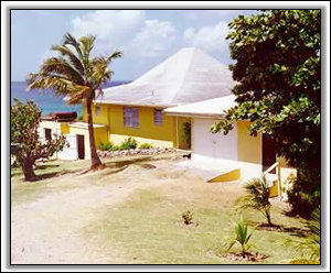 Tamarind Tor Looks Out Over The Caribbean - Nevis Holiday Villas