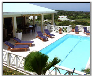 The Beautiful Pool At TooMuchNice Villa - Nevis Island