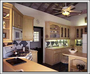 The Spacious Gourmet Style Kitchen - Nevis Villa Rentals