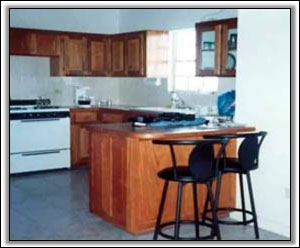 The Kitchen At Vista Del Mar Villa - Nevis Property