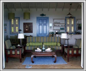 The West Indies Inspired Lounge - Vacation Villas
