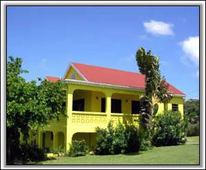 Whippoorwill Villa In Caribbean Colors - Nevis Property