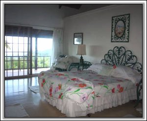 The Master Bedroom At Windfall Villa - Nevis Property