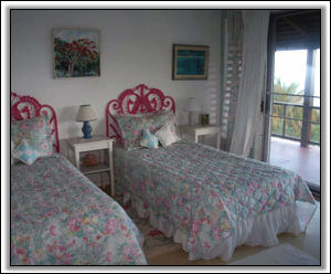 A West Indies Inspired Guest Bedroom - Caribbean Villas