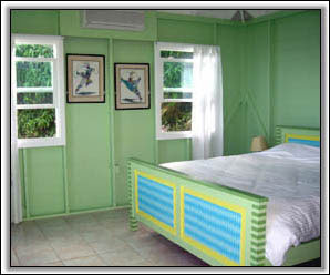 This Bedroom Has A West Indies Feel - Nevis Vacation Homes