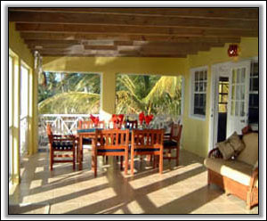The Veranda Has Great Nevis Sunset Views - Holiday Homes